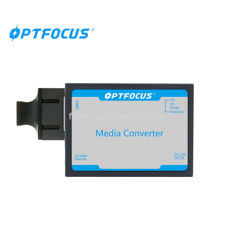 Single Mode Gigabit Media Converter 2.5W Power Consumption With 1 Years Warranty supplier