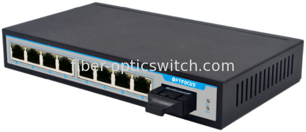 10 / 100Mbps Fiber Optic Switch For Urban Intelligent Traffic Monitoring System supplier