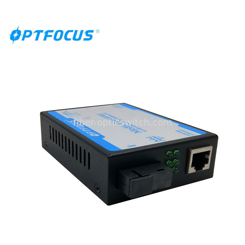 Ethernet Fiber Media Converter SC Single Fiber Single Mode 60KM supplier