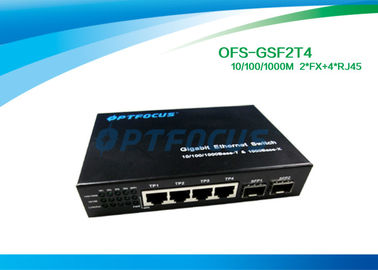 Ethernet 12 Gigabit Fiber Optic Switch