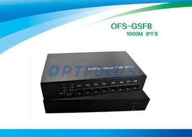 SFP 8G Fiber Optic Switch