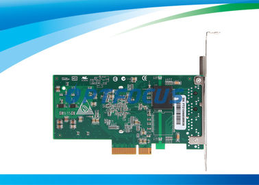 PCI Express Network Card Dual Ethernet Ports 32°F - 131°F Copper Connector